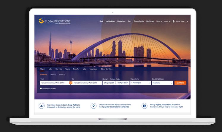 B2B Travel Portal